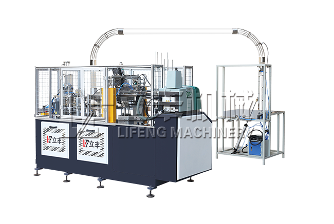 GWT - 600 paper cups high-speed coat molding machine